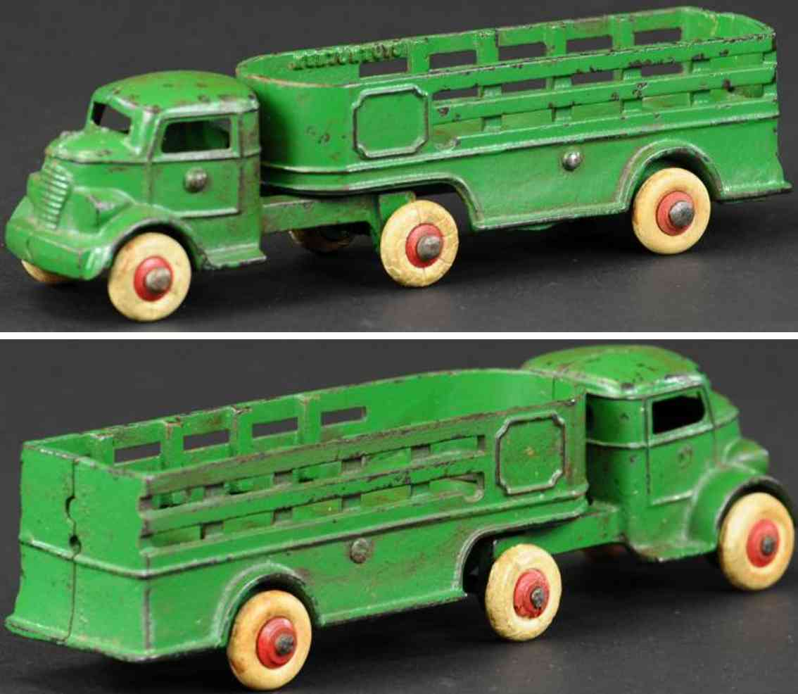 kenton hardware co spielzeug gusseisen lastwagen gruen
