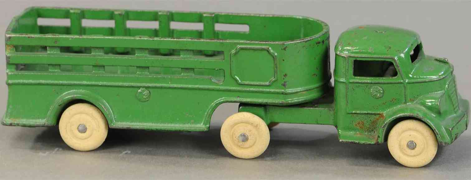 kenton hardware co gusseisen lastwagen anhaenger gruen