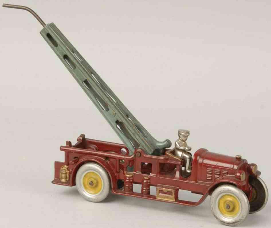 kenton hardware co spielzeug gusseisen feuerwehrwagen