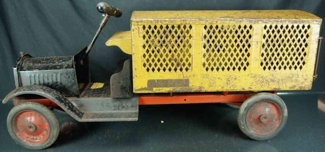 keystone blech spielzeug aufsitz postwagen aus stahlblech u.s. mail lastwagen