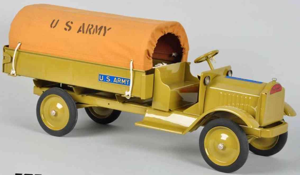 keystone spielzeug us militaer-lastwagen stahlblech