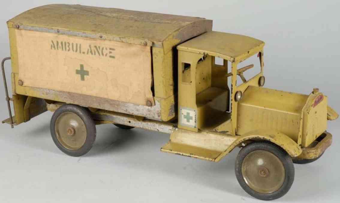 keystone spielzeug krankenwagen stahlblech