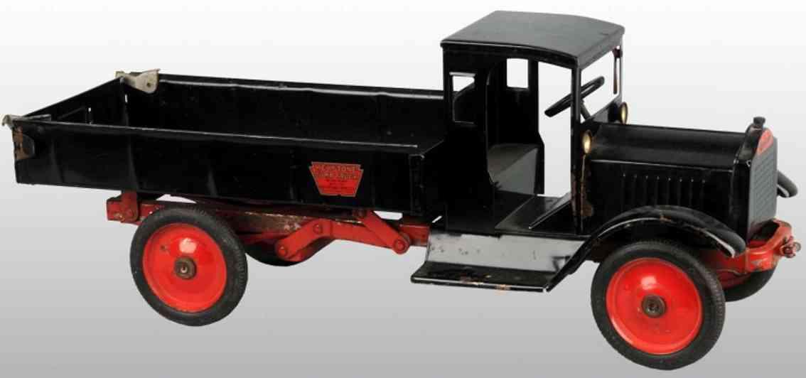 keystone stahlblech spielzeug packard kipplastwagen