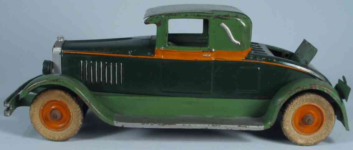 kingsbury toys 344 oldtimer roadster coupe in drei farben