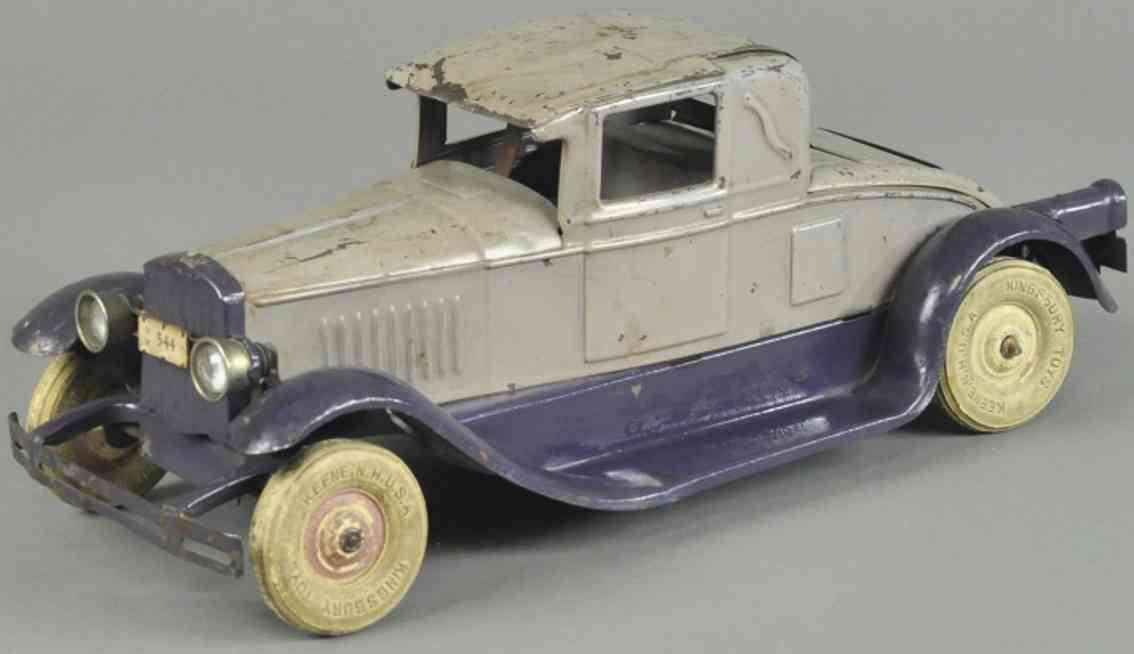 kingsbury toys 544 stahlblech spielzeug auto coupe stahlblech lavendel lila