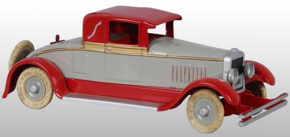 Kingsbury toys Oldtimer Coupe with wind-up