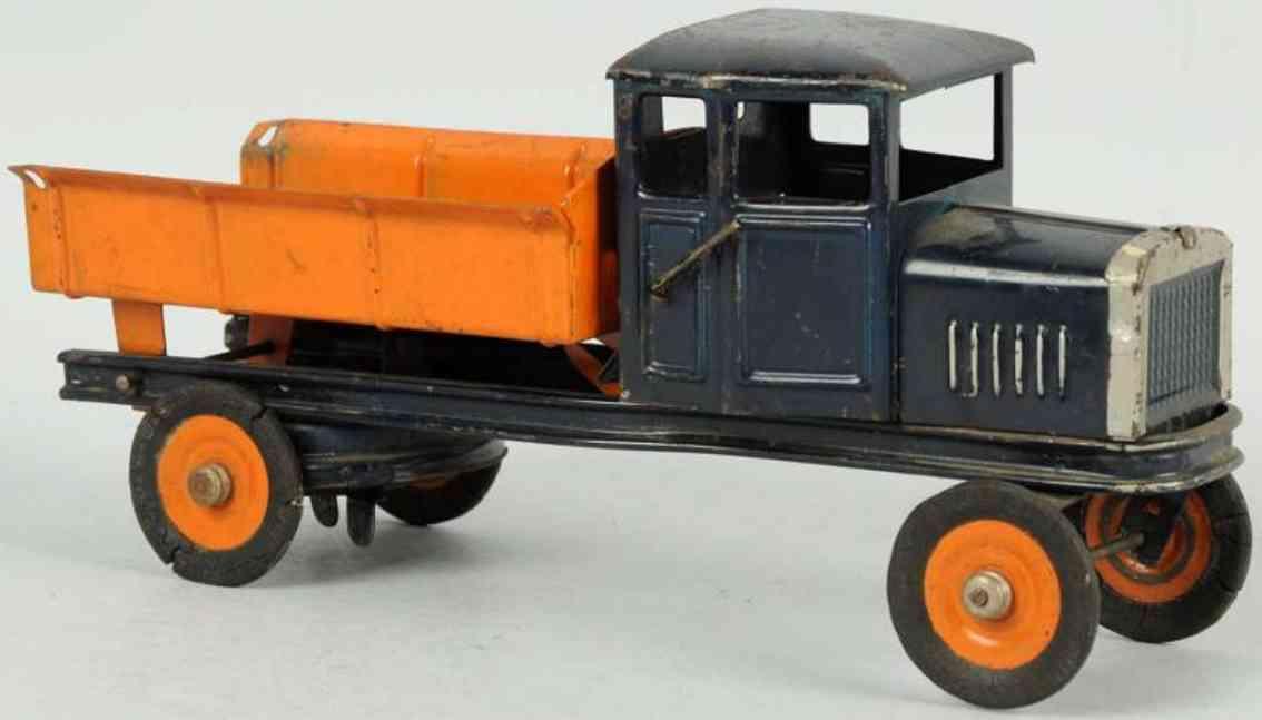 kingsbury toys stahlblech spielzeug kipplastwagen