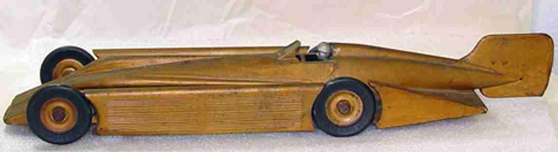 kingsbury toys rennnwagen goldener pfeil