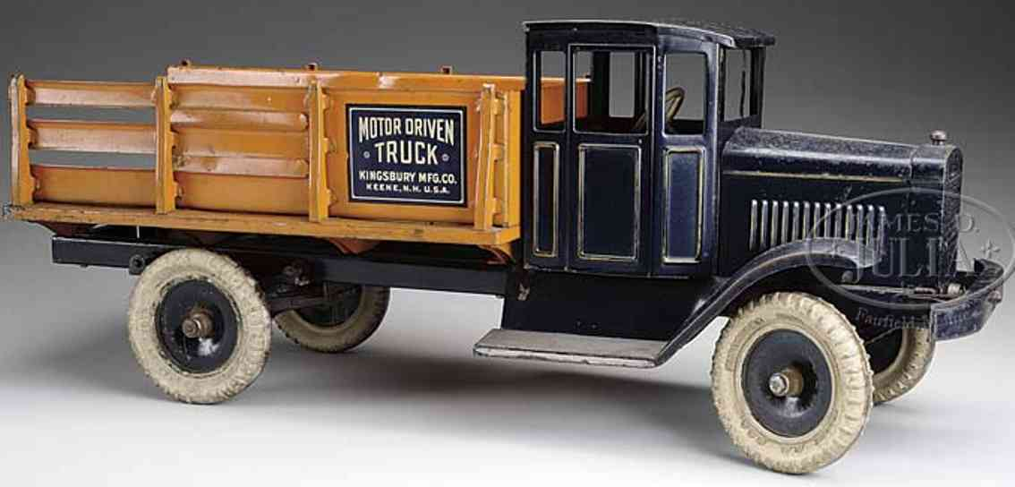 kingsbury toys blech spielzeug motorisierter lastwagen