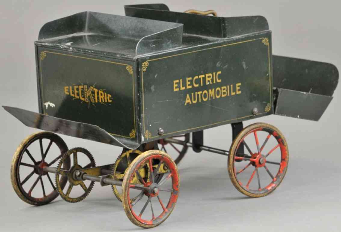knapp electric and novelty company  electric automobile tinplate