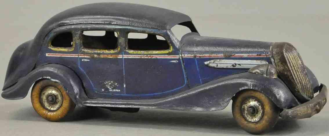 kosuge toy co blech spielzeug auto graham paige limousine blau