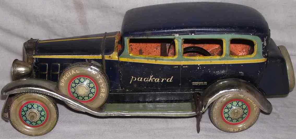 kosuge toy co tin wind up toy car limousine