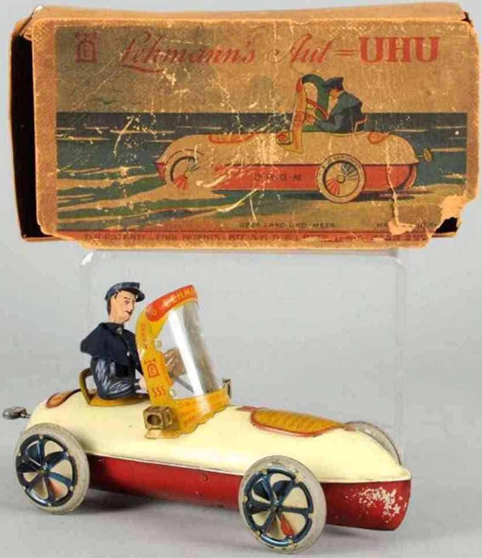 lehmann 555 tin toy uhu amphibian car