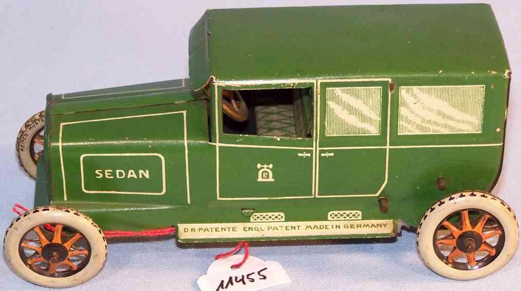 lehmann 765 oldtimer sedan limousine green