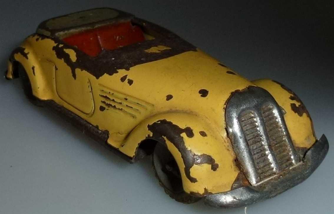lehmann 811 tin toy roadster sport car