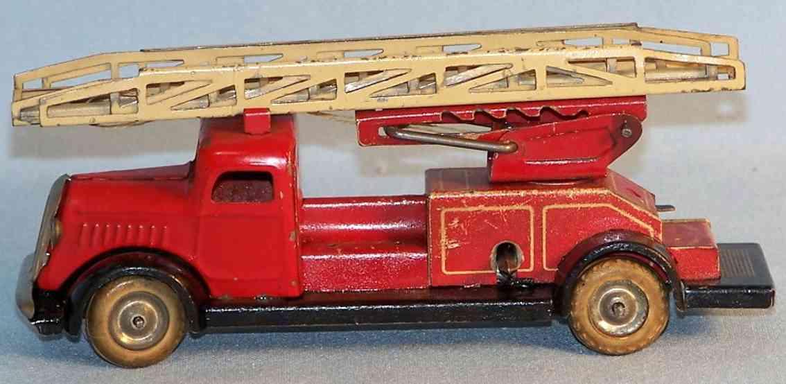 Lehmann 815 Fire ladder car of the gnome series
