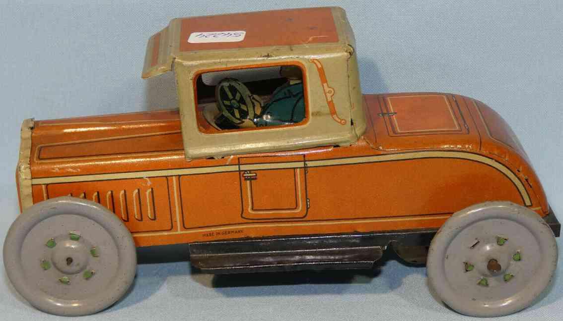 levy george gely 139 blech spielzeug auto limousine orange