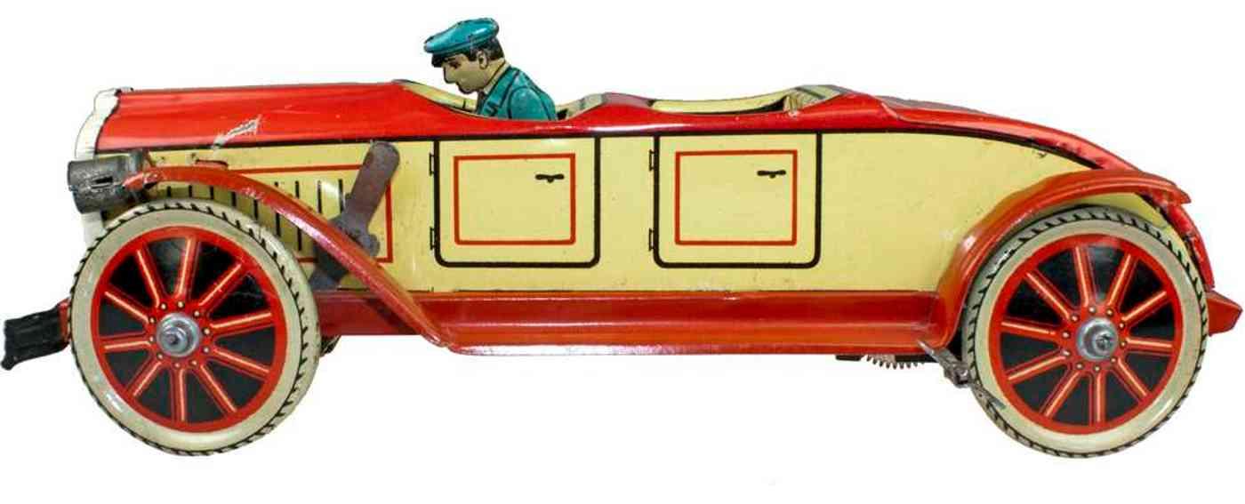 levy george gely 129/1 blech auto tourenwagen uhrwerk