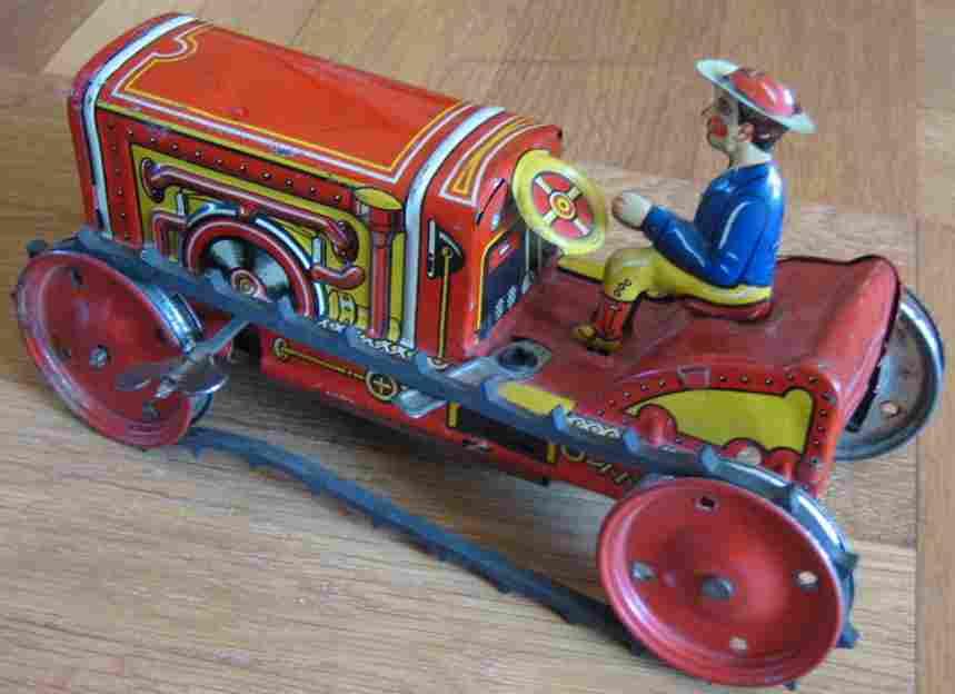 levy george gely blech spielzeug traktor mit uhrwerk