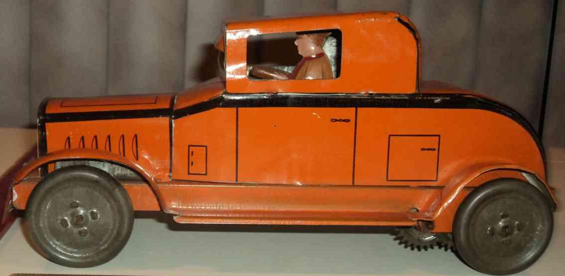 lindstrom 150 auto spielzeug oltdimer blechwagen mit uhrwerk und fahrer