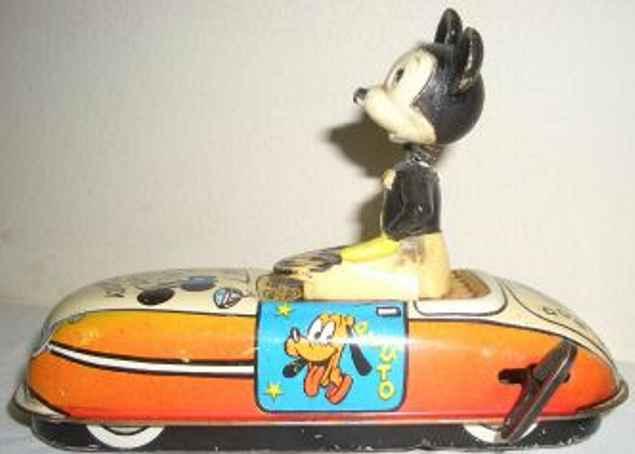 Linemar Micky Maus im Auto