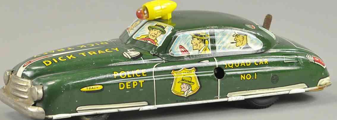 linemar dick tray polizeiwagen