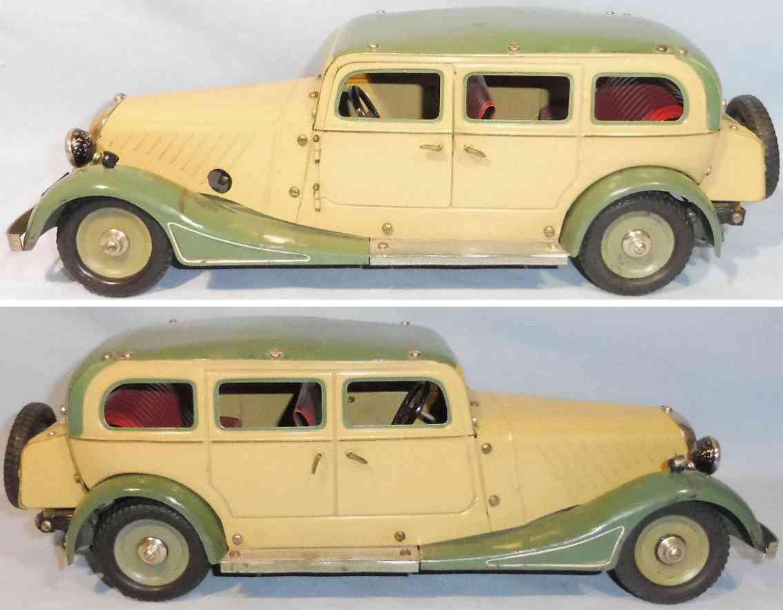 maerklin 1101 blech spielzeug baukastenauto pullmann limousine uhrwerk