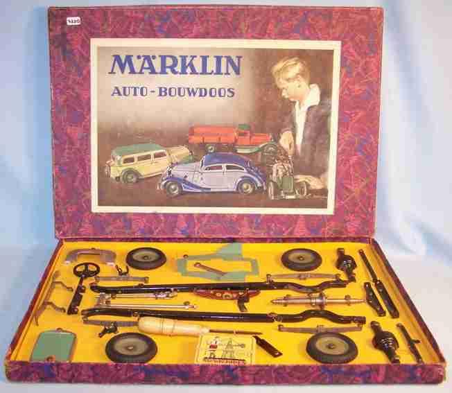 maerklin 1101 c blech spielzeug baukastenauto