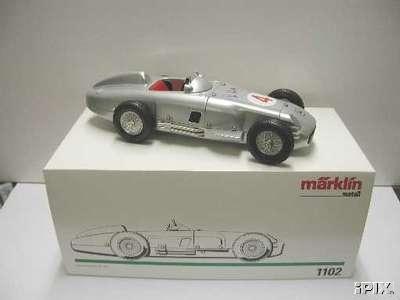 marklin 1102 blech spielzeug rennauto mercedes rennwagen