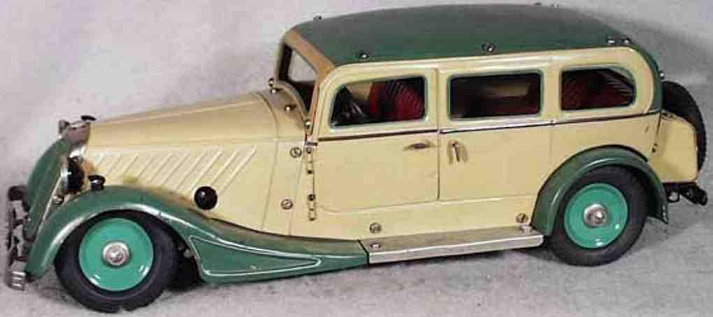 maerklin 1004 P blech spielzeug baukastenauto pullmann-limousine mit uhrwerk, 4 türen, fahrertüre zum öffn