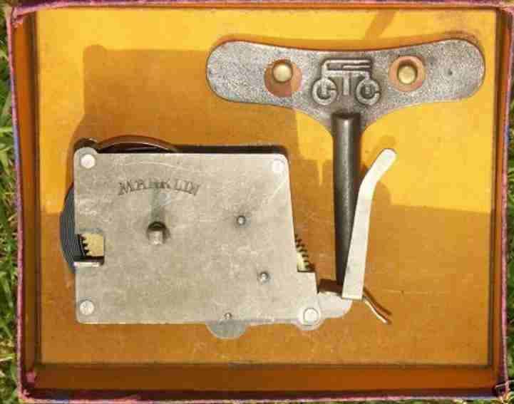 Märklin 1109 M Uhrwerkmotor für ein Baukastenauto