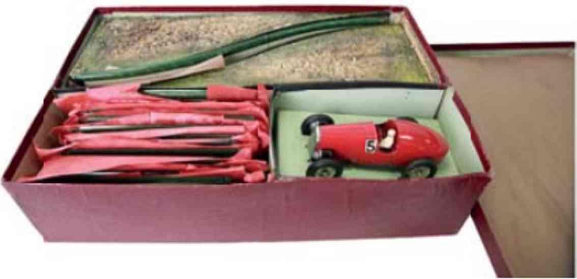 maerklin 13301/g2 autorennbahn rennauto rot