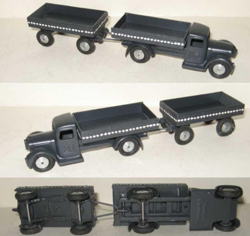 Maerklin 5521/20 5521/21 truck with trailer