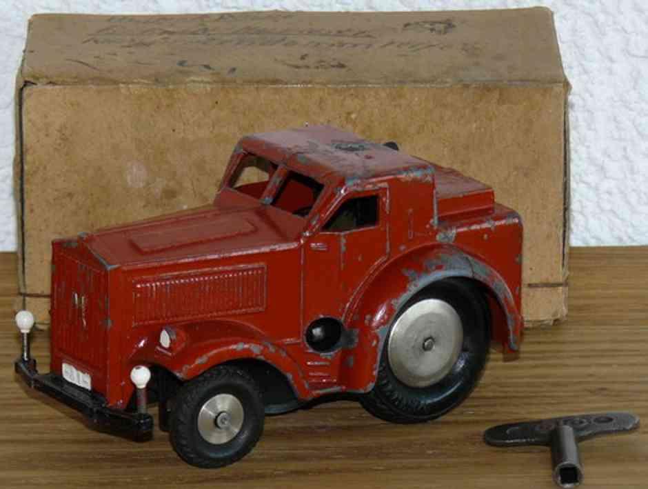 Märklin 5521/81 Traktor in rot