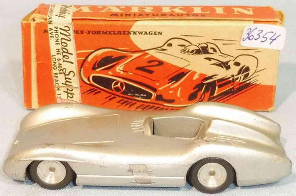 marklin 5524/11 die cast toy race car mercedes silver arrow