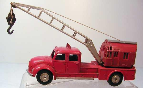 marklin 8031 toy magirus round hood truck crane die-cast