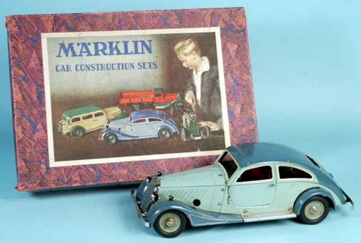 maerklin blech spielzeug auto bausatzauto