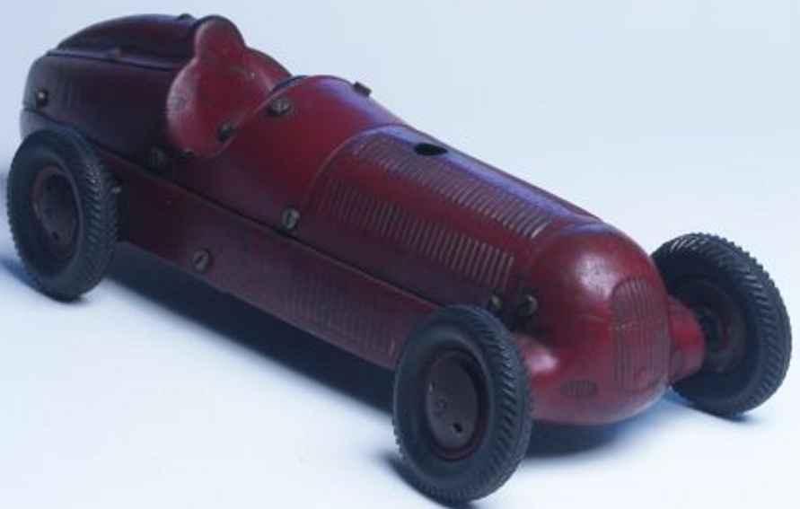 marklin blech spielzeug rennauto mercedes mit uhrwerk mb w25