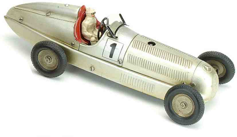 marklin 1 blech spielzeug rennauto mercedes rennwagen
