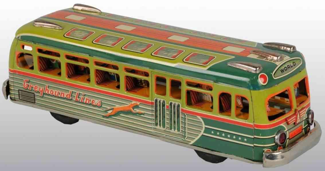 Marusan Shoten Greyhound lines bus
