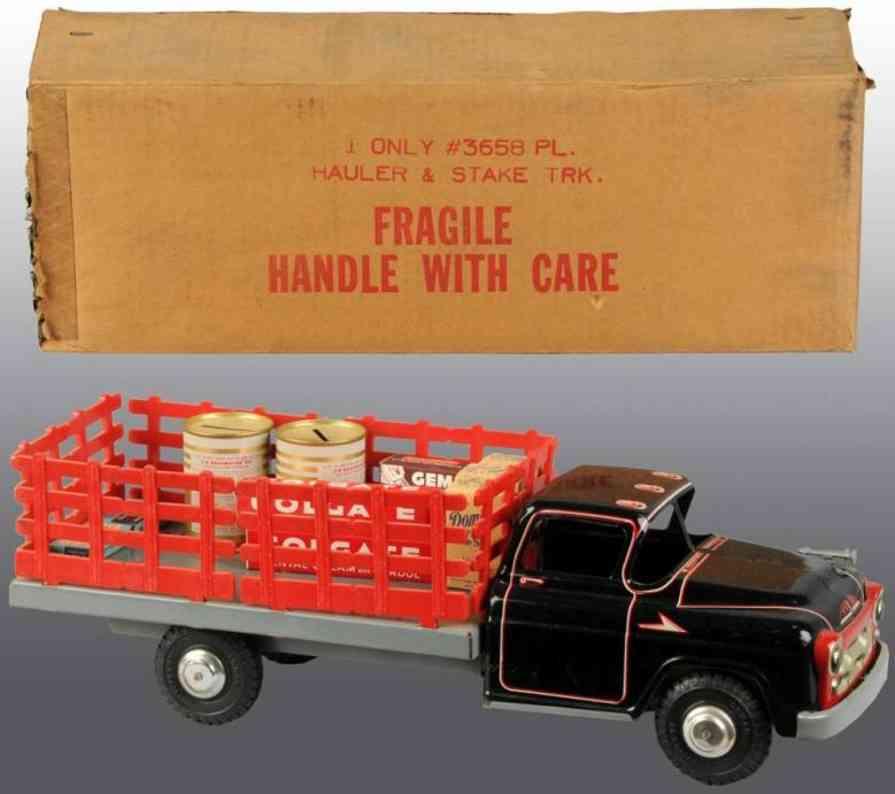 Marx Louis Co. 3658 Hauler & Staker Lastwagen