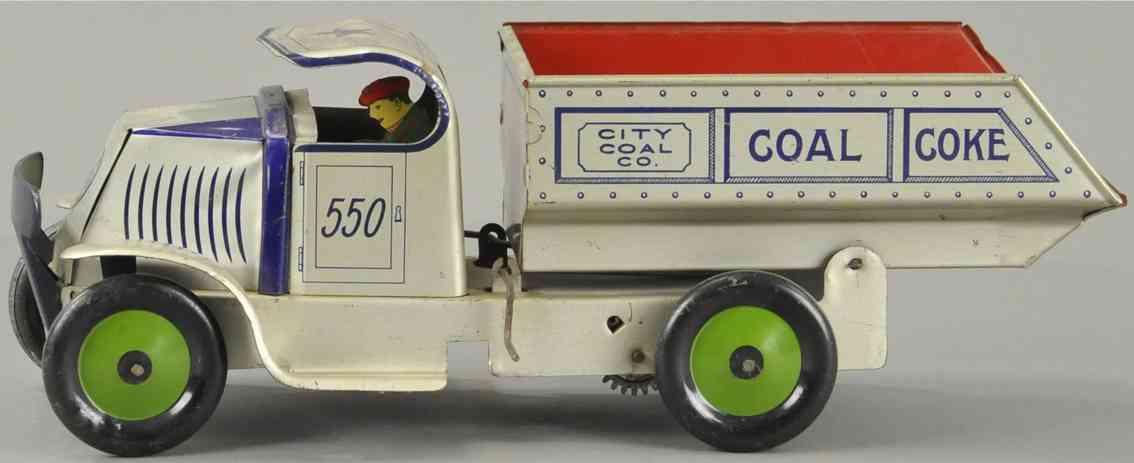 marx louis 550 blech spielzeug kohle lastwagen