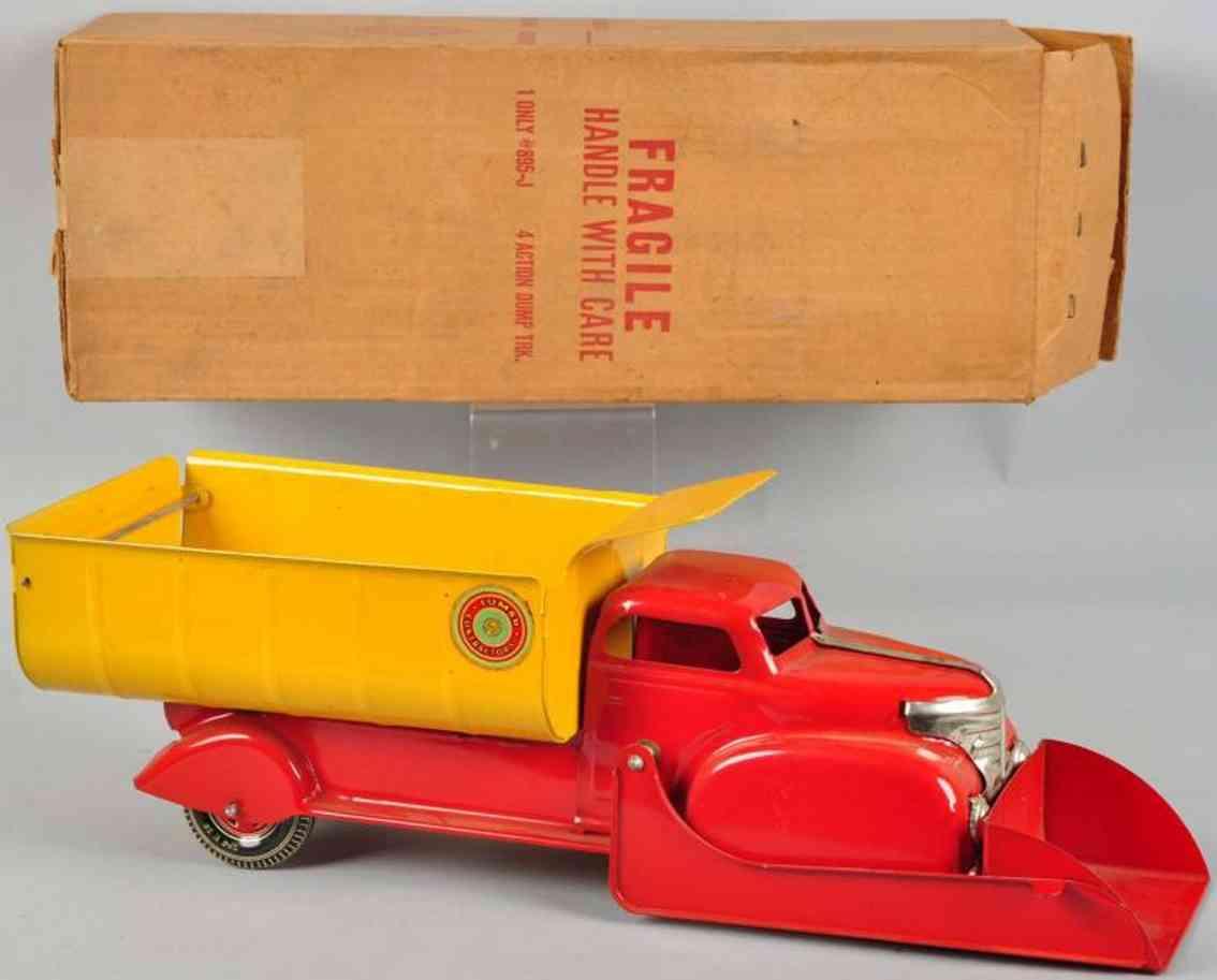 Marx 895-J 4-action dump truck