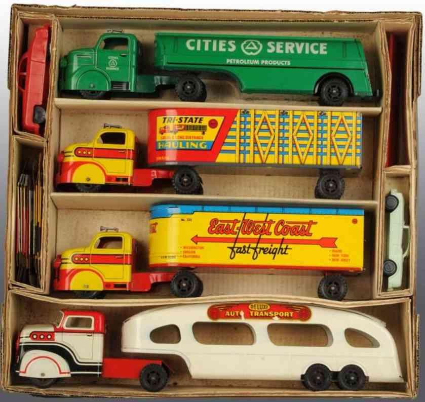 Marx Louis Co. 998 Lastwagen Set