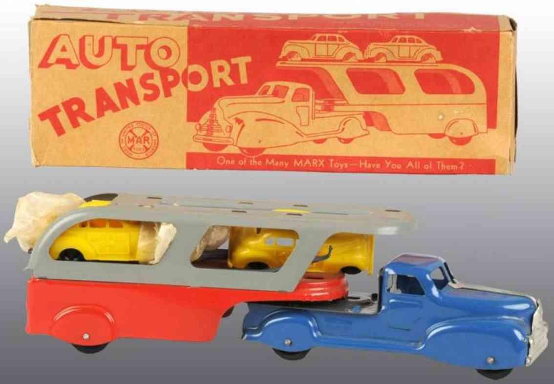 Marx Louis Co. Autotransportwagen