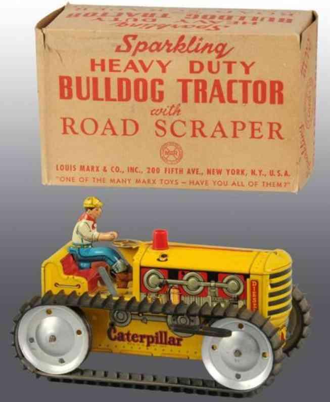 marx louis blech spielzeug traktor fahrer