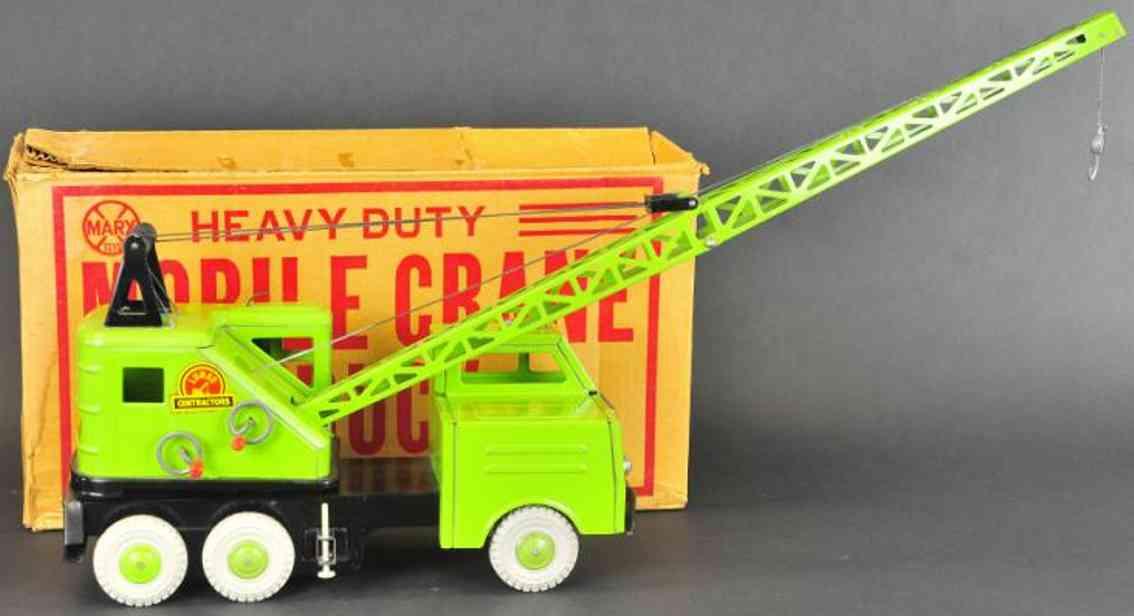 Marx Louis Lastwagen Mobiler Kran in grün