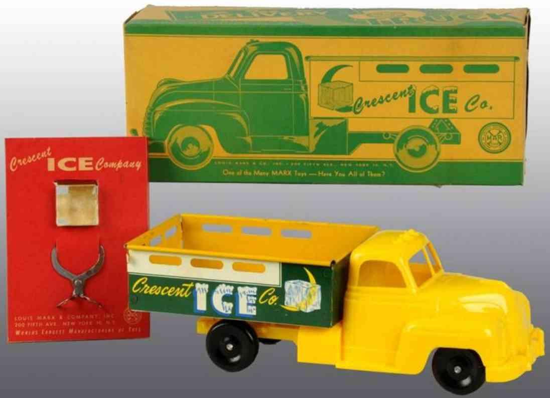 Marx Louis Co. Lastwagen Crescent Ice