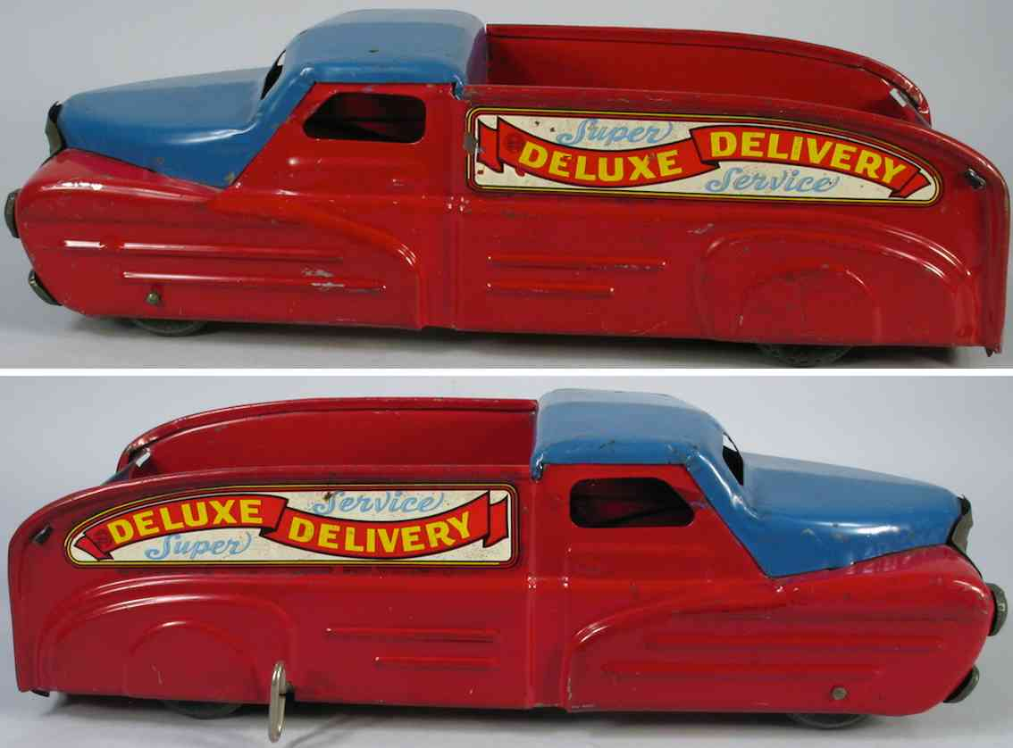 Marx Louis Deluxe Delivery art deco super service truck