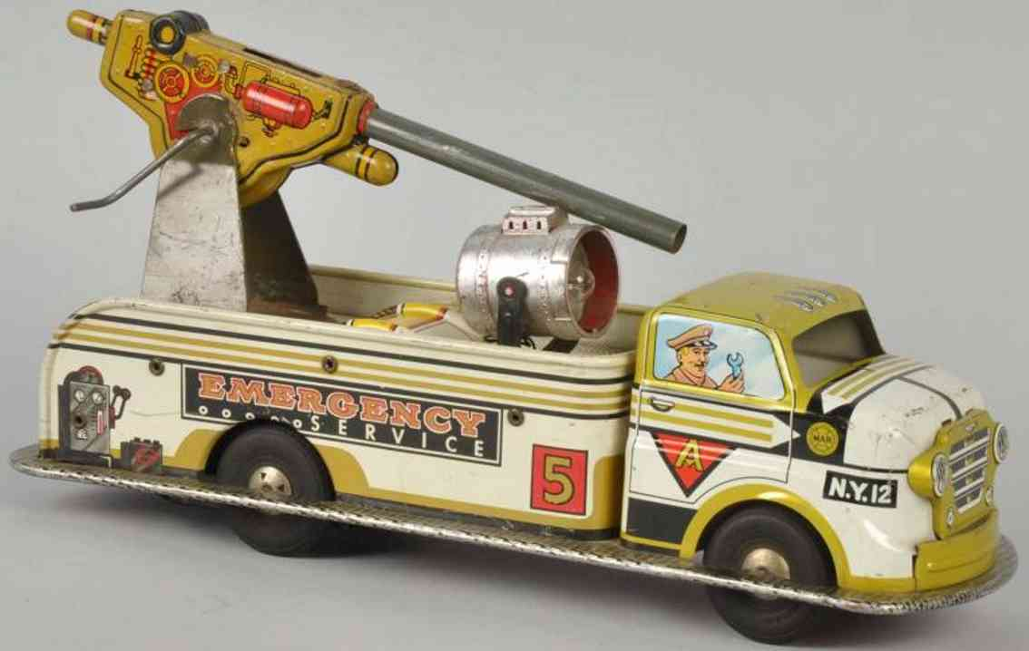 Marx Louis Emergency service truck with friction drive